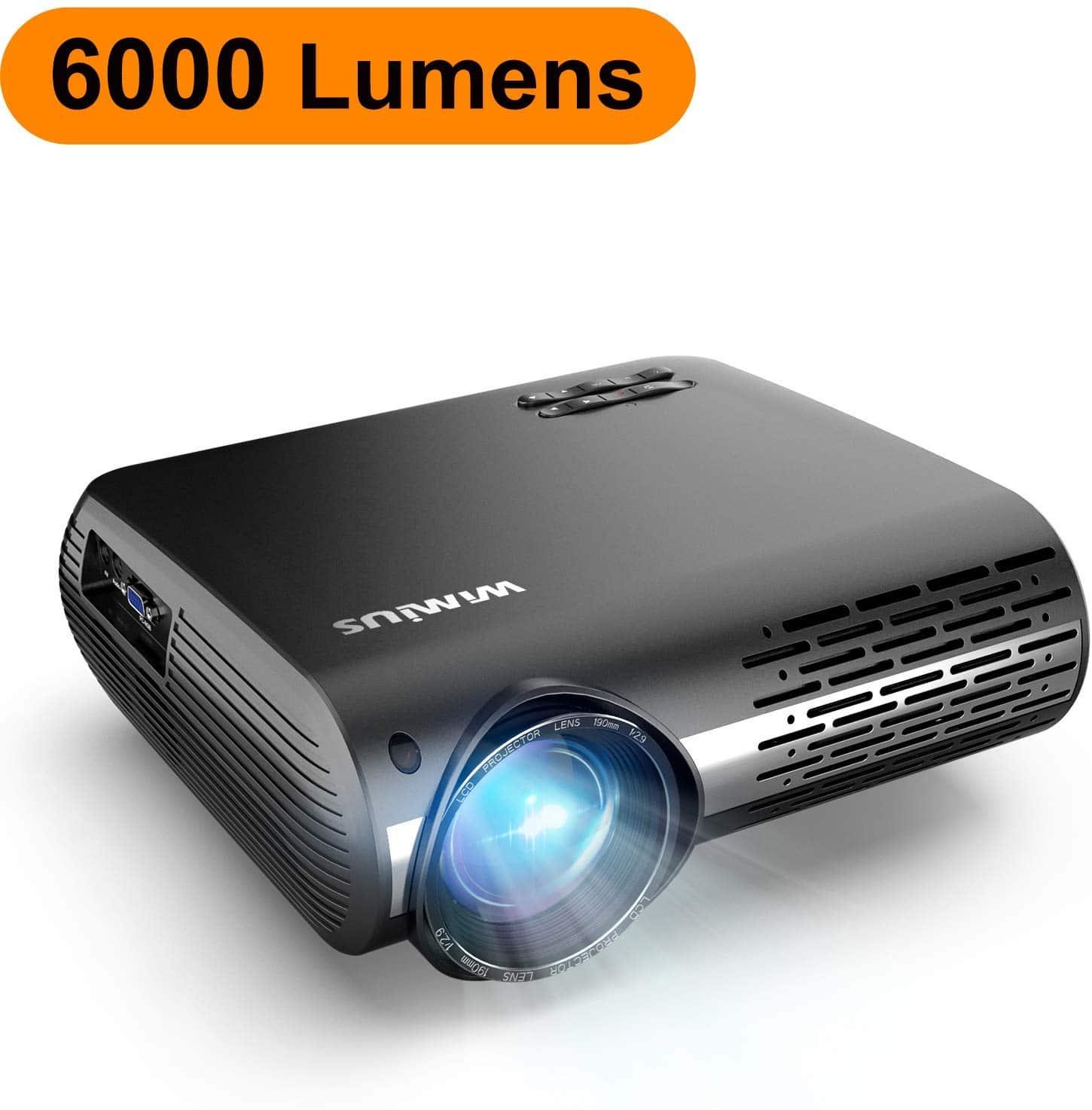 Comment Choisir Un Vidéoprojecteur avis wimius 6200 lumens : test du vidéoprojecteur full hd