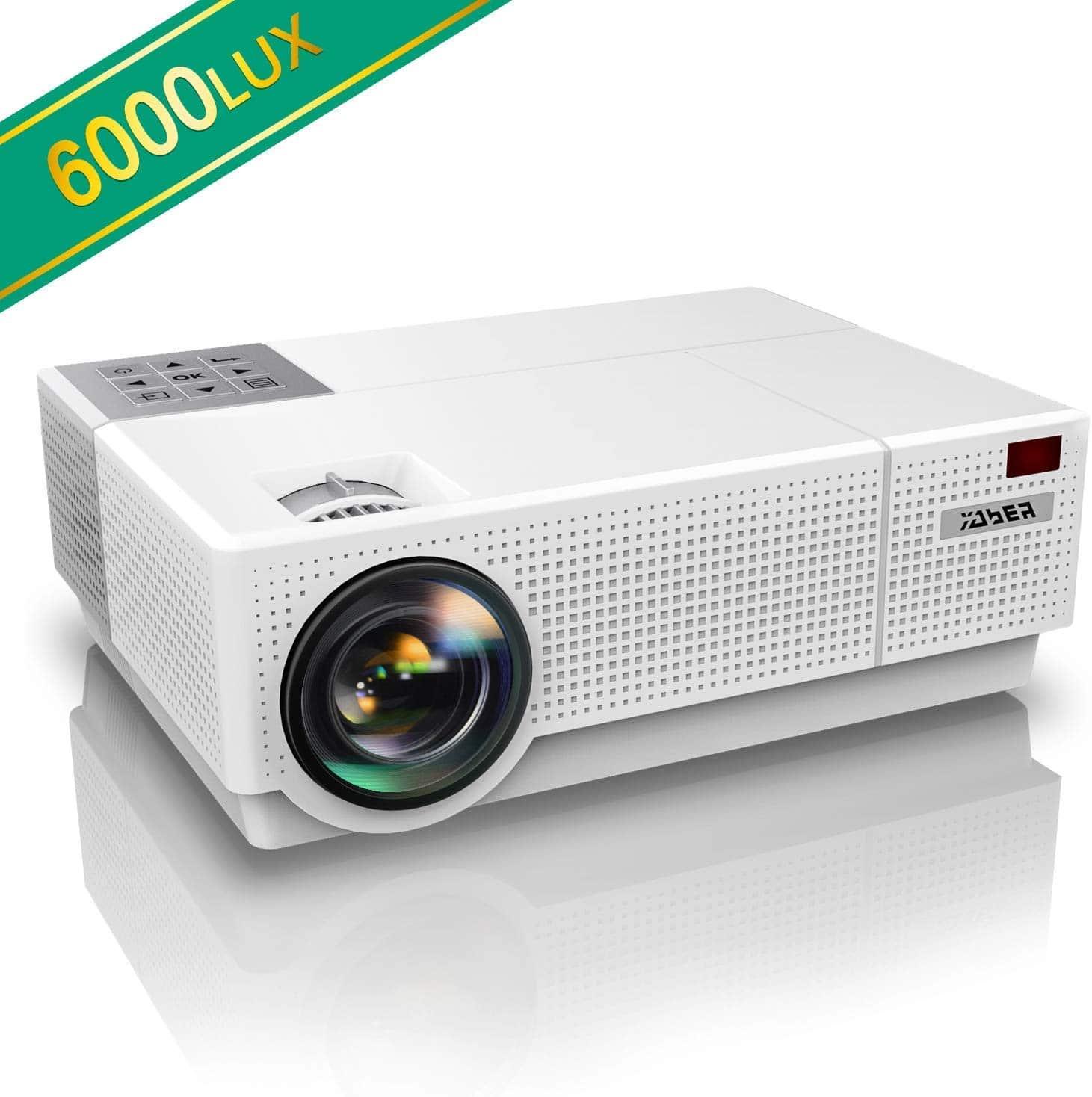 Comment Choisir Un Vidéoprojecteur avis yaber 6500 lumens : test du video projecteur full hd 1080p