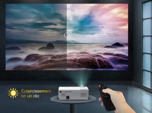 Avis vidéoprojecteur Yaber 7000 Lumens Y31