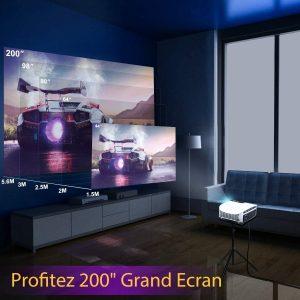 Elephas Vidéoprojecteur Full HD