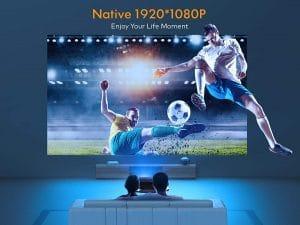 Vidéoprojecteur Apeman 1080P natif Full HD