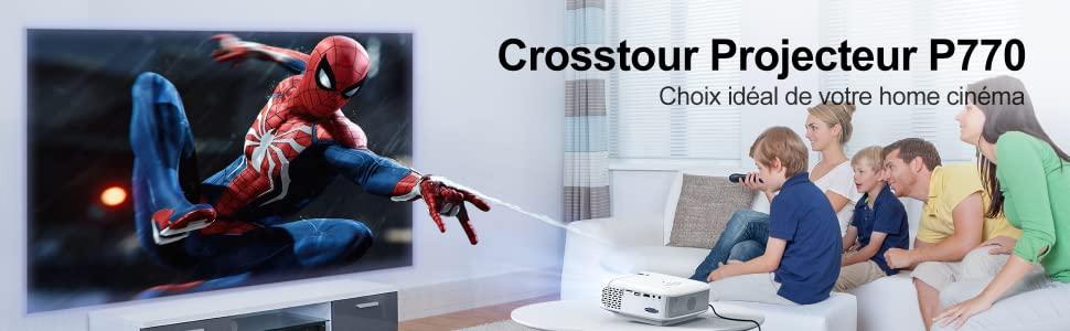 mini projecteur Crosstour